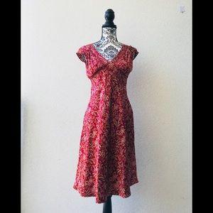 🎉 New York Company 💯 silk burgundy 2